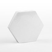 54 Blank Hex Cards