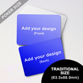 Custom Blank Game Cards Landscape (63.5 x 88.9mm)