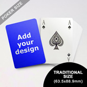 Bridge Style Selection Custom Poker (63.5 x 88.9mm)