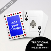 Timeless Frame Custom Poker With Jumbo Index (63.5 x 88.9mm)