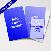 Big Creator Blank Game Card