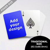 Classic Choice Custom Poker Back (63.5 x 88.9mm)