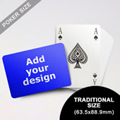 Bridge Style Selection Custom Poker (Landscape) (63.5 x 88.9mm)