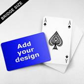 Bridge Index Playing Card – Wide Surface