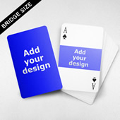 Bridge Size Playing Cards – Horizontal Frame Back