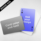 Message Front Bridge Card – Wide Surface