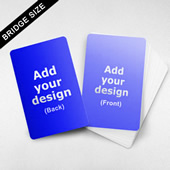 Custom Bridge Size Cards