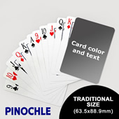 Pinochle with Personalized Message