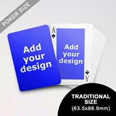 Classic Custom Front and Back Playing Cards (63.5 x 88.9mm)
