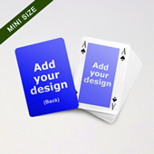 Mini Card Series – Classic Bridge Card with Double Faces for Customization