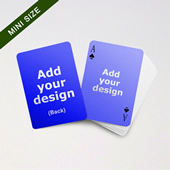 Mini Card Series – Double Faces Blank in Bleed Size