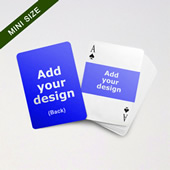 Mini Card Series – Double Faces Card with Landscape Back