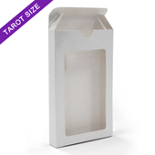 Window tuck box for 78 tarot size cards