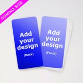 Custom Domino Deck Game Cards