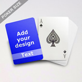 Classic Personalized Photo Playing Cards