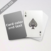 Classic Choice Poker With Custom Message