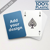 Custom Plastic Playing Cards Bridge Style