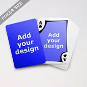 Modern Custom Front And Back Playing Cards