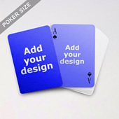 Simple Custom Front And Back Playing Cards