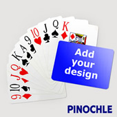 Pinochle Fun Classic Choice with Jumbo Index (Landscape)