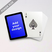 Black Border Poker Cards