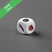 Custom Round Corner Dice 16mm