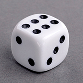 Round Corners Dice 14mm