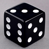 Black Dice 25mm