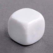 16mm Plain Dice round corners