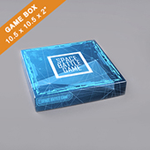 Custom Large Square Game Box 2