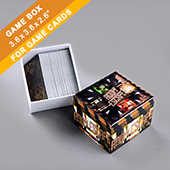 Custom Card Game Box 200 Cards