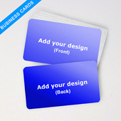 Business Deck Custom Blank Cards Landscape