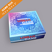 Custom Large Square Game Box 3