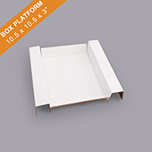 Corrugated Game Box Platform10.5x10.5x3