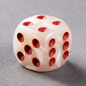 Marble Dice 16mm