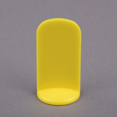 25x51mm Plastic Pawn Yellow