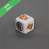 Custom Dice Straight Edge 16mm