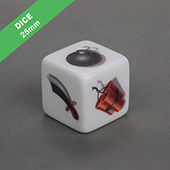 Custom Dice 25mm