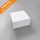 Plain Medium Square Game Box 3