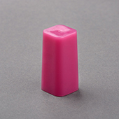 Square Column & Hollow Plastic Pawn Purple