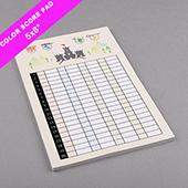 Custom Score Pad Large Size Full Printing