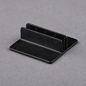 32X32X10mm Plastic Stand Black