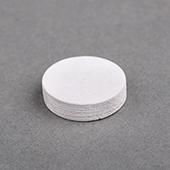 15x15x4mm Wooden Disc White