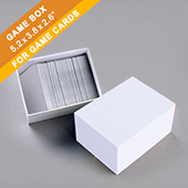 Plain Game Card Box 300 cards