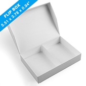 Plain Easy-Flip Game Box 140 x 96 x 24mm