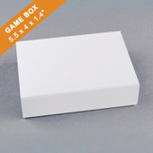 Plain Double Poker Box 140x102x35mm