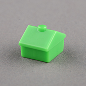 Plastic house Green