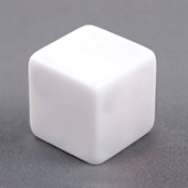 16mm Plain Dice staright corners