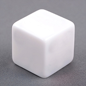 25mm Plain Dice staright corners