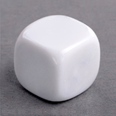 25mm Plain Dice round corners